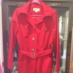 Michael Kors trench coat size Medium